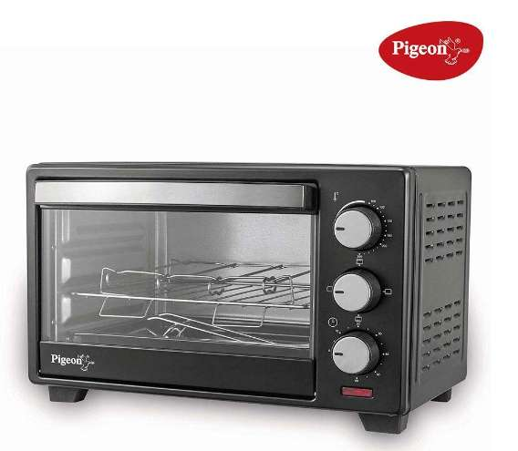Pigeon by Stovekraft Electric Oven Toaster and Griller, 16-Litre with Barbeque Rack