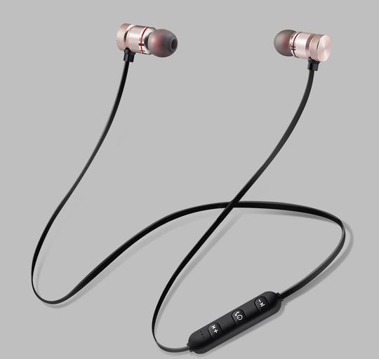 Roadster Unisex Black Wireless Earphones with Mic 1 Year Warranty