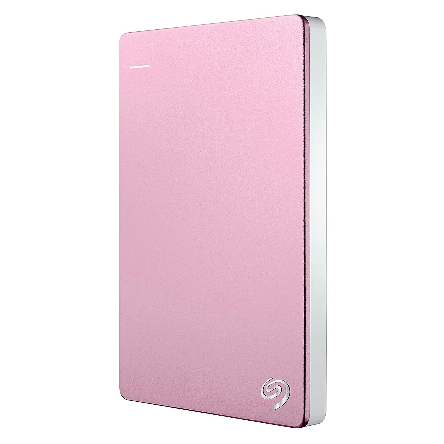Seagate 2TB Backup Plus Slim (Rose Gold) USB 3.0 External Hard Drive for PC/Mac with 2 Months Free Adobe Photography Plan
