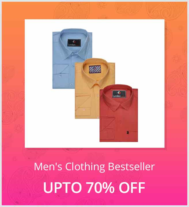 Offer Shopclues Best Selling Mens Clothes Upto 70