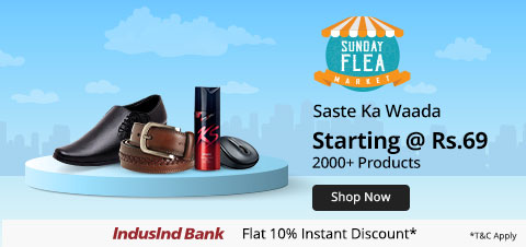 Shopclues- Sunday Flea Market
