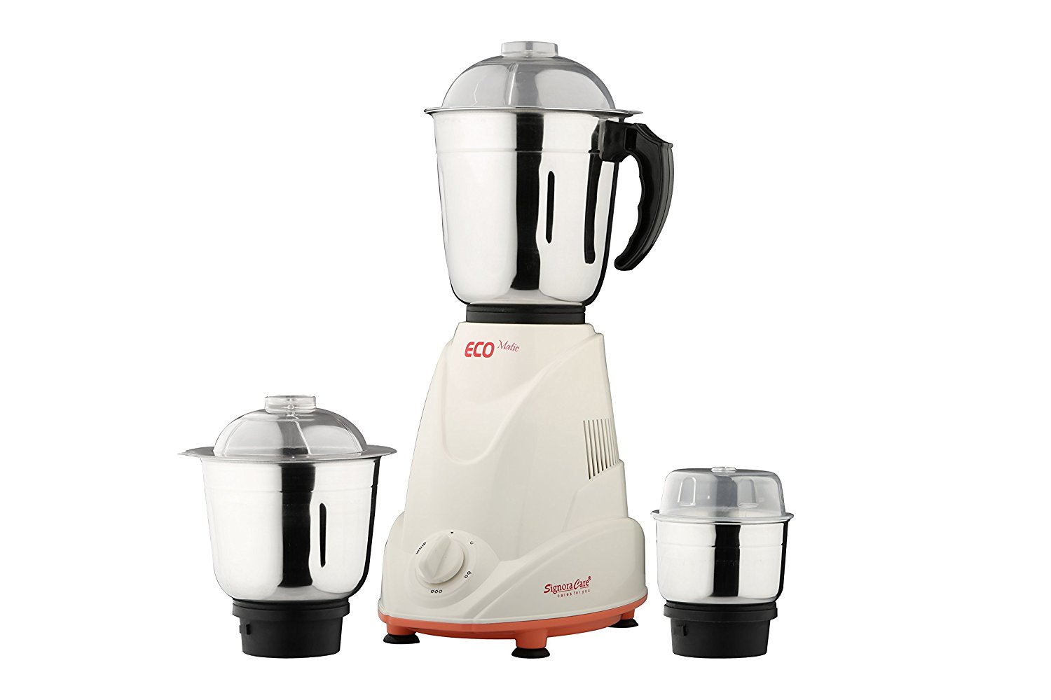 SignoraCare Eco Matic 550 watts mixer grinder with 3 jars