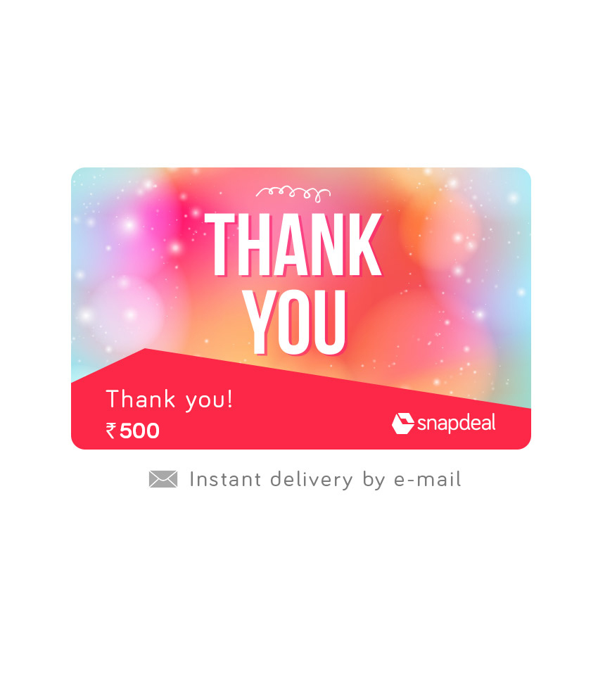 Snapdeal gift coupons
