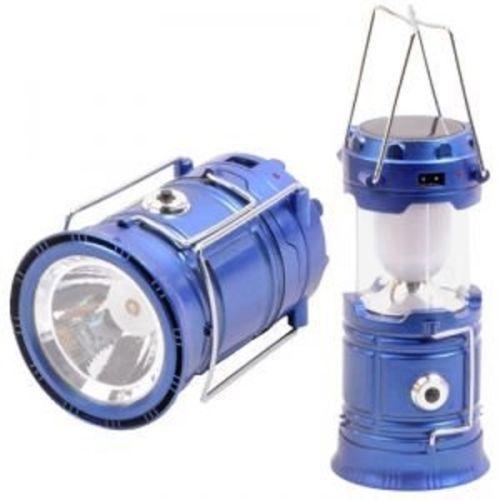 Solar Rechargeable 6-W Led Light Lantern Lamp Inbuilt Mobile Usb Power Bank