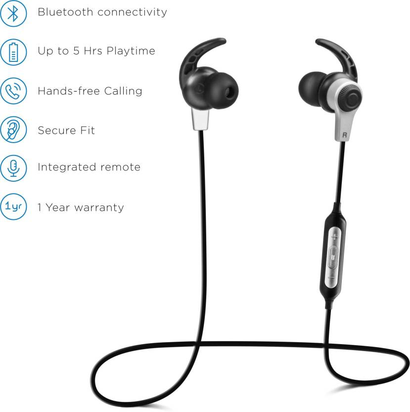 SoundLogic Loop Headset 2.0 Bluetooth Headset with Mic