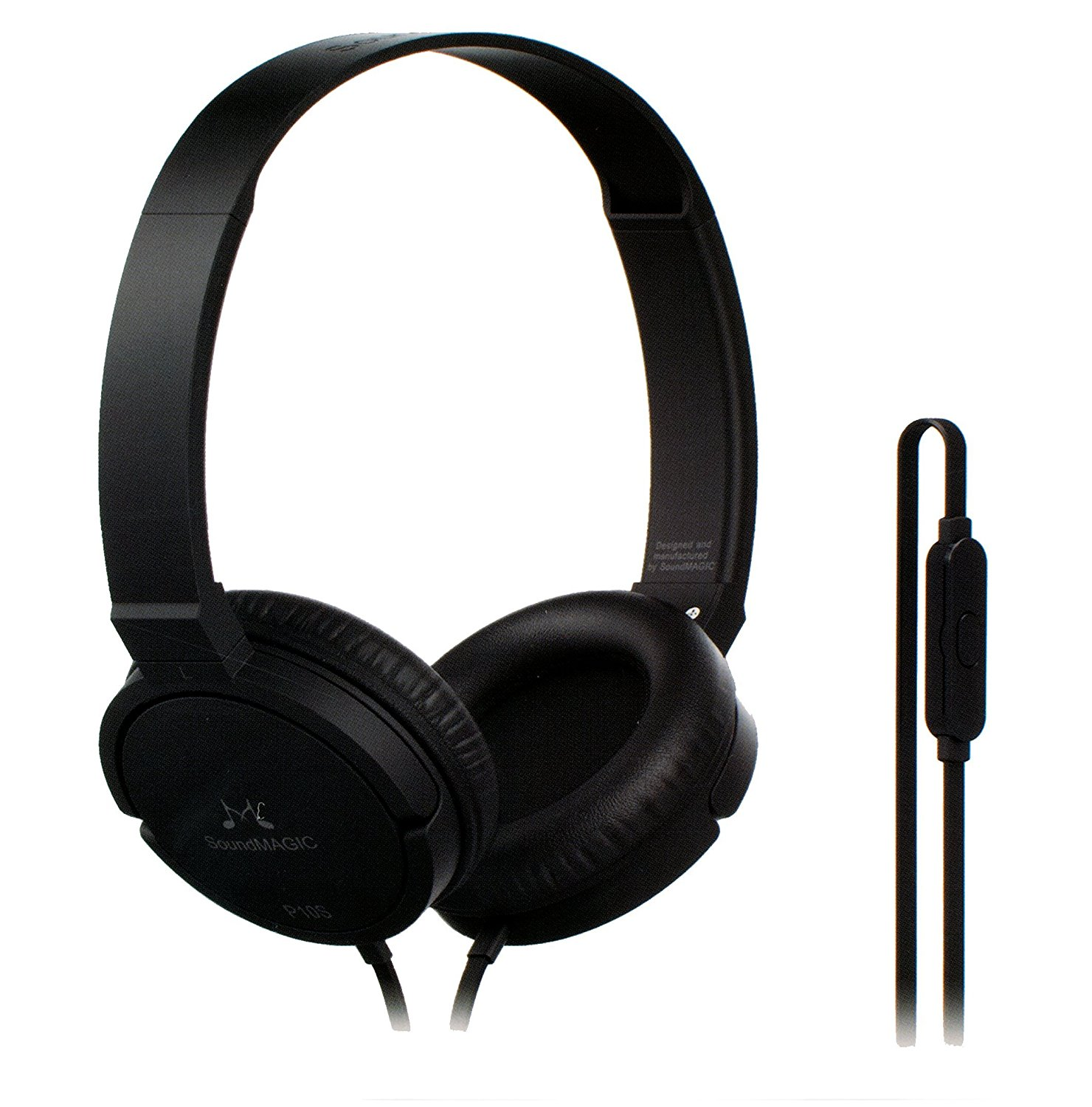 SoundMagic P10S Black Gunmetal Headphone With Mic