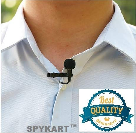 SPYKART Digital Noise Cancellation Clip Collar Mic Condenser For Youtube Video