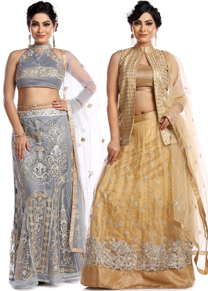 Stylish Lehenga Collection By Fashion X