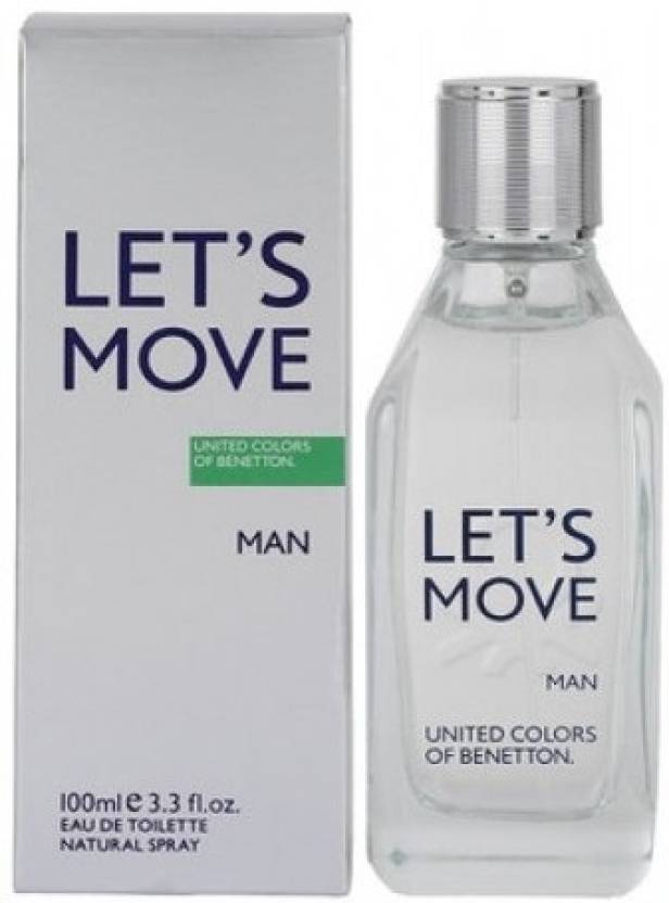 United Colors of Benetton Lets Move EDT - 100 ml  (For Men)