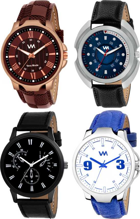 Vera Mode 4 Fast Style Analog Watches - For Men