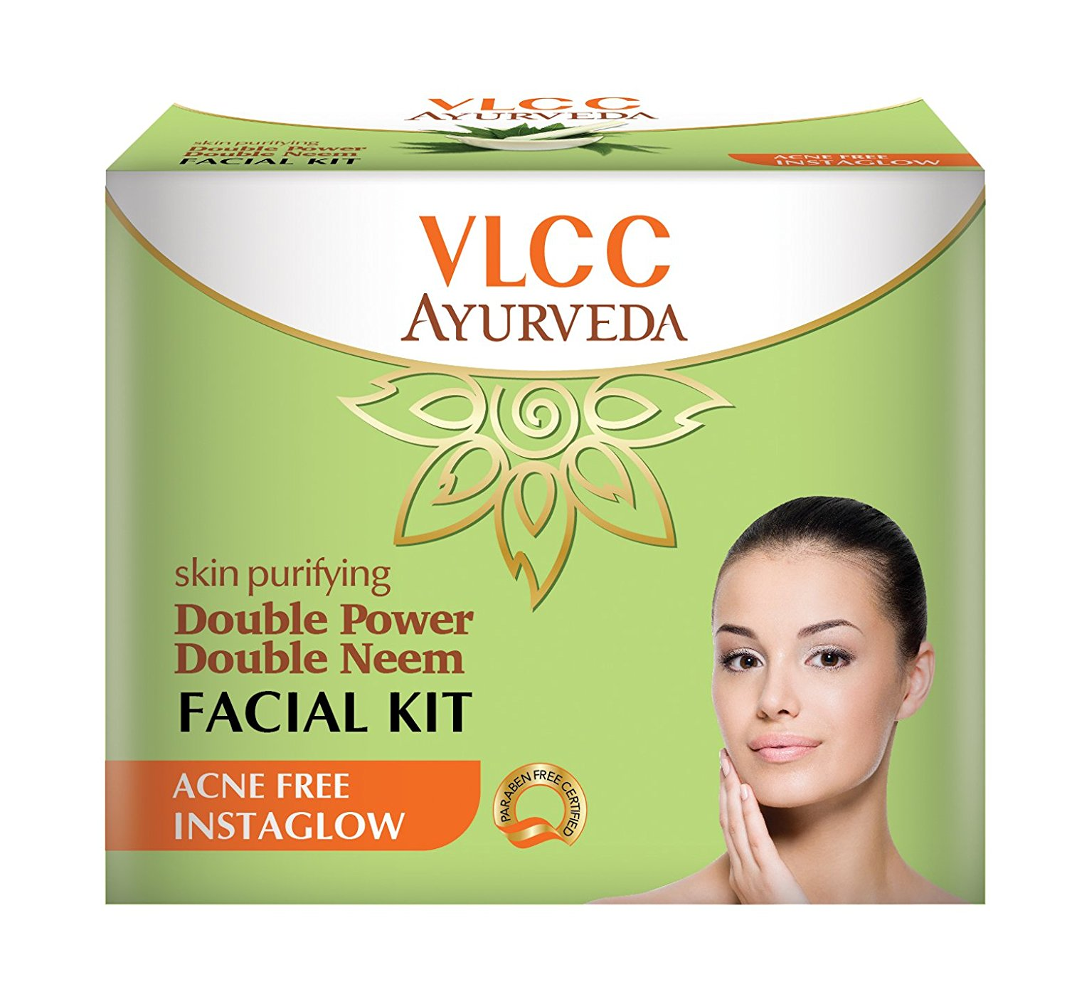 VLCC Ayurveda Skin Purifying Double Power Double Neem Facial Kit- 50g