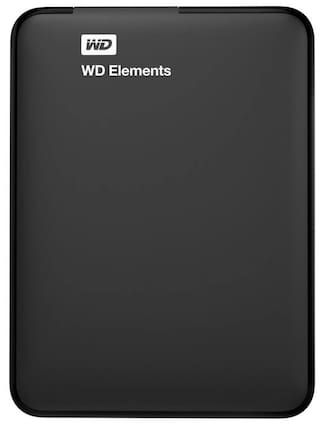 WD Elements 2 TB Portable External Hard Drive