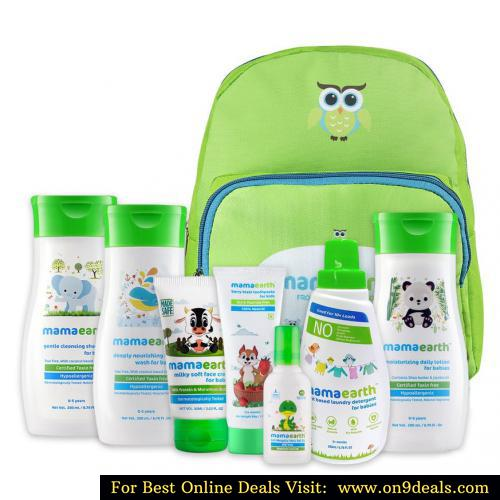 Winter Essential Kit for Babies With Baby Backpack Bag