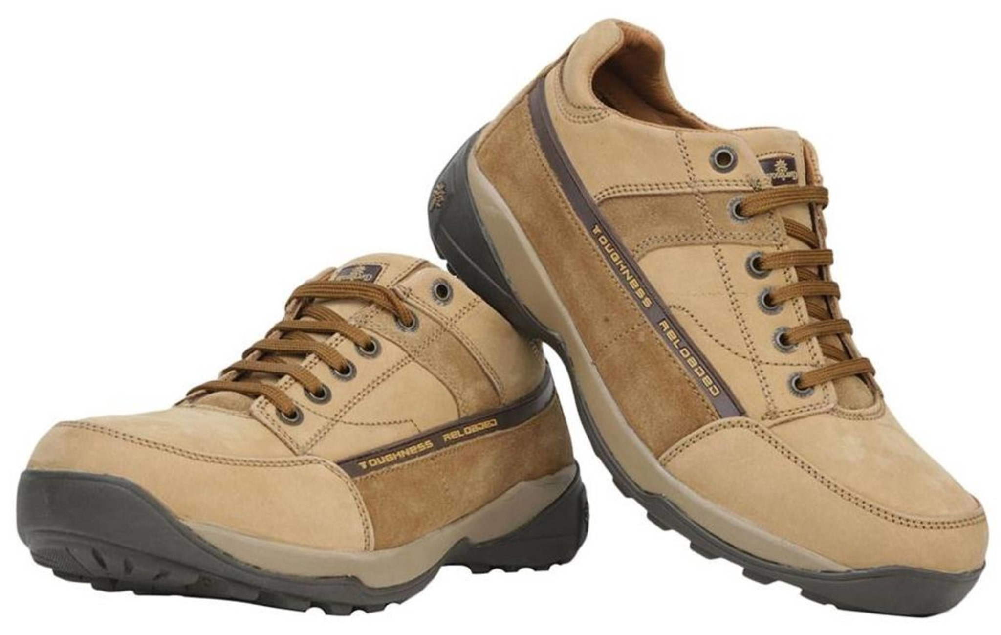 Woodland Men Tan Casual Shoes @ Rs.1348 After 70% Cashback