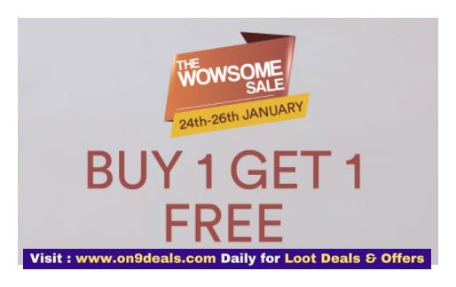 WOWSOMESALE Buy 1 Get 1 Free