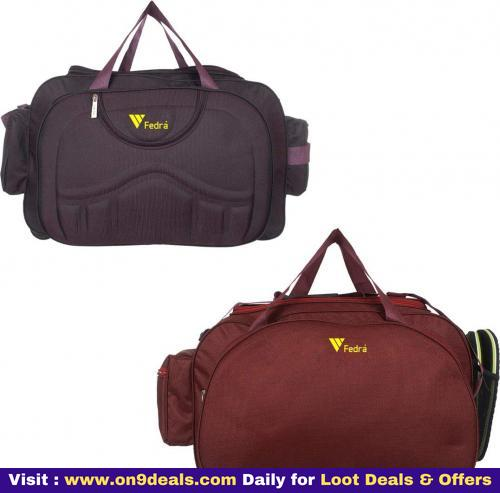 Duffle Luggage with Wheels Duffel Bag Pack of 2 @ Rs.859