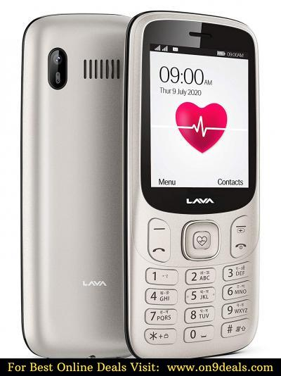 Lava Pulse Mobile Phone - with BP & Heart Rate Monitor