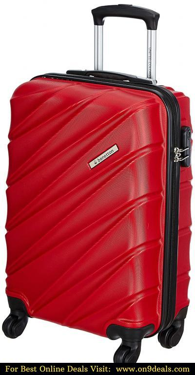United Colors of Benetton Roadster Hardcase Luggage ABS 57 cms